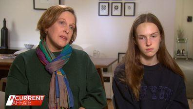 Melinda Walker and her daughter Chloe, 15.