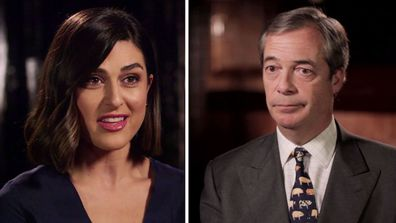 Nigel Farage defends his seat in the European Parliament
