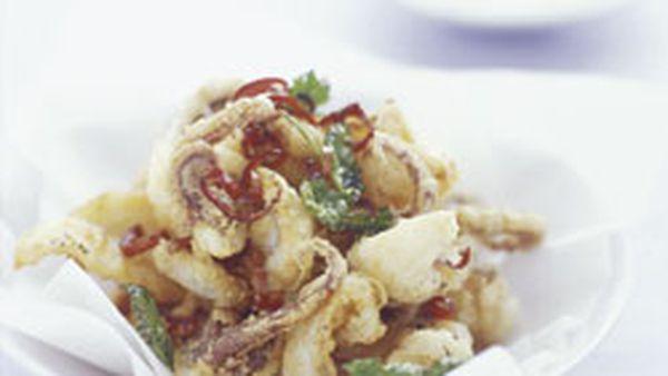 Chilli salt squid