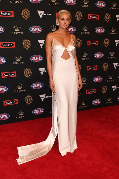 Jesinta  Franklin at the 2018 Brownlow Medal red carpet, September, 2018<br> <div>&nbsp;</div>