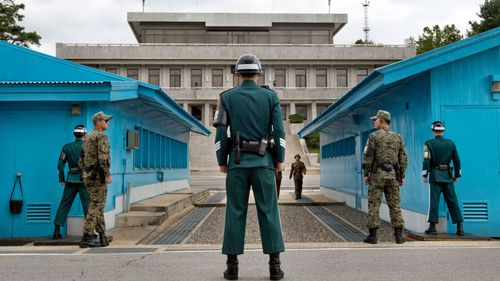 The heavily guarded DMZ is a symbol of the divided Korean peninsula. (AP).