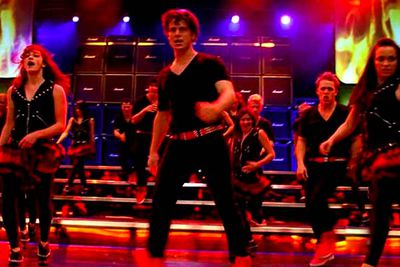 <B>From the episode...</B> 'Hell-O'<br/><br/><B>Why it sucks:</B> This tune marked the introduction of Jesse St James (Jonathan Groff), the heartthrob who turned out to be a weaselly little weasel. It also proved that boys with great show-tunes voices should not attempt hard rock — it just comes out silly.