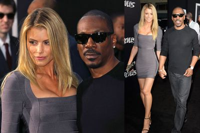 Actress Paige Butcher and Eddie Murphy made an appearance.