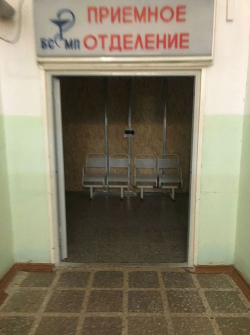 This handout photo provided by spokesperson Kira Yarmysh, shows the inside of the Hospital where Russian opposition figure Alexei Navalny is being treated on August 20, 2020 in Omsk, Russia
