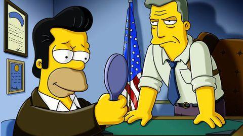 First look: Mad Men's Jon Hamm on The Simpsons