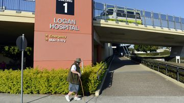 Logan Hospital will be upgraded. Picture: AAP