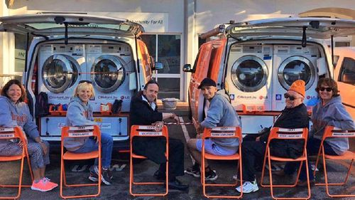 Homeless charity Orange Sky Laundry set its sights on Darwin