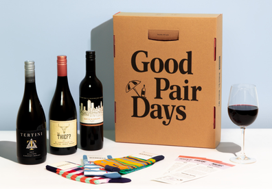 Good Pair Days Wine Lover Dad box