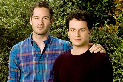 Putting aside the fact that a cutie like Scotty (Luke Macfarlane, who's openly gay) would never date a guy with hair as awful as Kevin's (Matthew Rhys, the couple has been praised for demonstrating that gay relationships share the ups and downs of their straight counterparts.