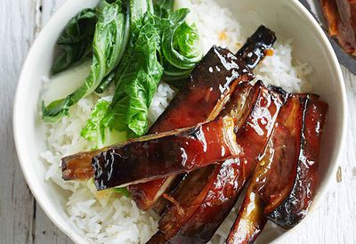 "Recipe:&nbsp;<a href=""http://kitchen.nine.com.au/2016/05/05/13/09/pickled-ginger-and-sweet-chilli-glazed-lamb-ribs"" target=""_top"">Pickled ginger and sweet chilli glazed lamb ribs</a>"