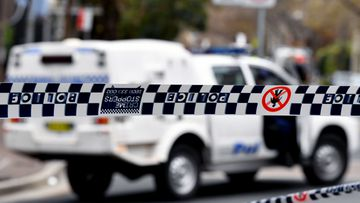 A man has died after at incident at a NSW shopping centre.
