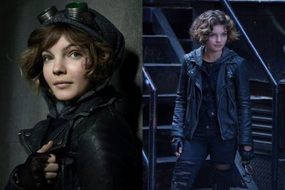 Camren Bicondova plays Selina Kyle, as she scales buildings, pickpockets passers-by and stalks the streets of Gotham. <br/><br/>Although she's usually depicted as the villainous Catwoman, this time Selina is more like a cute antiheroine who goes by the name Cat.