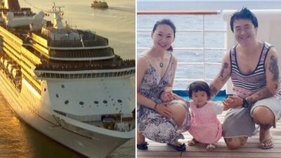 'Lucky I had tatts': Cruise security nab wrong man