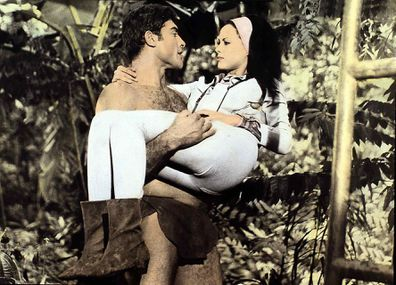 Mike Henry and Alizia Gur in Tarzan and the Jungle Boy