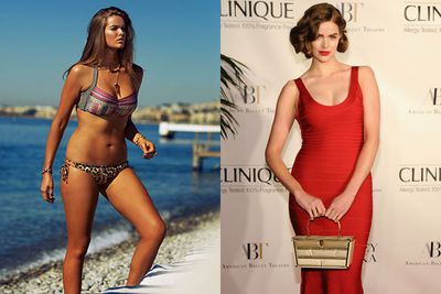 At age 15, Aussie model Robyn Lawley checked out a mainstream modelling agency... before realising how tough it was to maintain a size 8 bod. <br/><br/>Which is why she moved over to Bella model management, a plus-size agency in Oz. And the rest is history! <br/><br/>Since her model-move, the 25-year-old's become a total record-breaker... becoming the first plus-size model to front Aussie <i>Vogue</i> and <I>GQ</I> along with a Ralph Lauren and Barney's New York campaign #kickinggoals<br/>