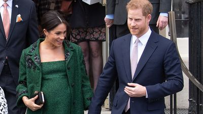 Meghan and Harry's baby will have some A-list pals