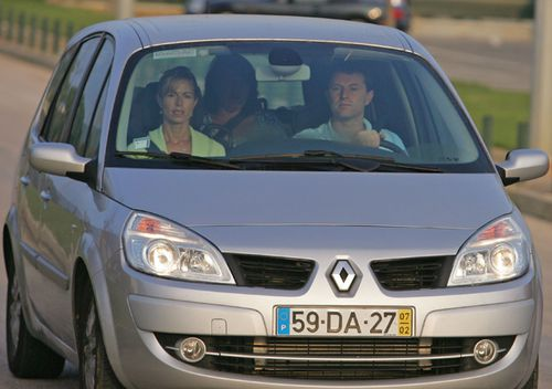 Kate and Gerry McCann, the parents of missing Madeleine McCann, arrive at Faro airport by car to board an Easyjet plane back to England on September 9, 2007.
