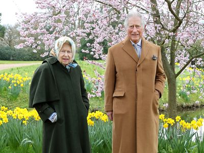 The Queen and Charles celebrate Easter, April