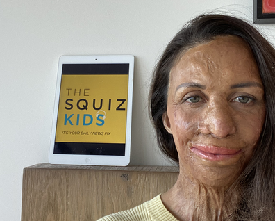 Turia Pitt The Squiz Kids podcast