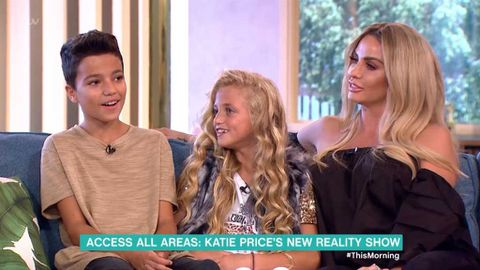 Katie Price and her children discuss their new reality show