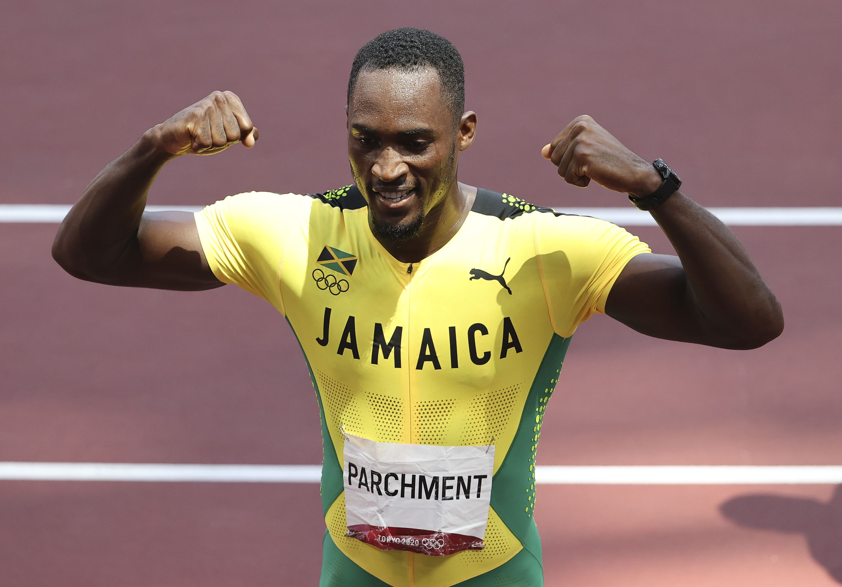 Jamaican hurdler Hansle Parchment thanks volunteer for act of kindness that led to Tokyo gold