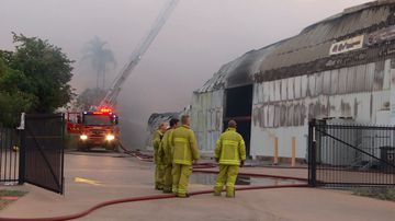 Major food supplier warehouse destroyed in fire