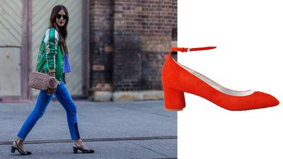 <p>For fans of the vertiginous, altitutude sickness-inducing stiletto, look away now.</p> <p><br /> The street style set have defined a new kind of sexy in the form of the low block heel - sans the risk of a rolled ankle.</p> <p><br /> Playing perfectly into the low-fi, masculine influences of the season, the low block heel balances femininity with practicality and enough comfort to keep you running between appointments all day. Bonus: it's kind of a timeless classic.</p> <p><br /> Pair loafer-leaning styles with a cropped jean and playful prints with feminine separates for the final word in down-low chic.</p>