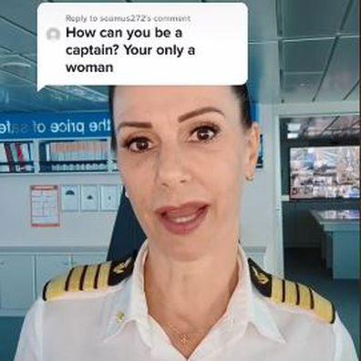 Captain Kate McCue