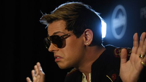 Milo Yiannopoulos is on a speaking tour of Australia. (AAP)