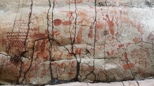 Spectacular 13-kilometre frieze of Ice Age beasts found in Amazon rainforest