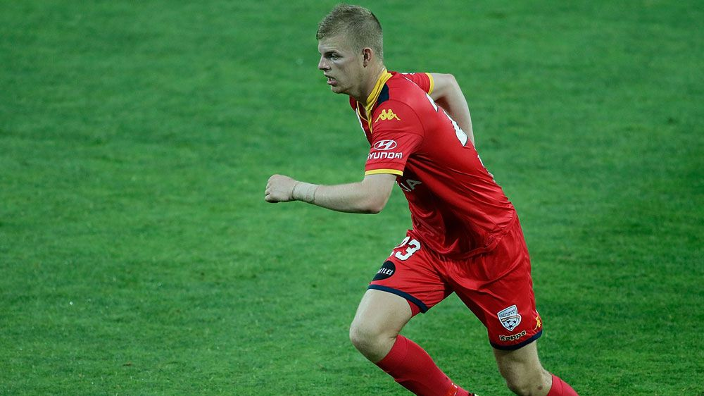 Adelaide United defender Jordan Elsey will miss the entire A-League season because of injury.(Getty)