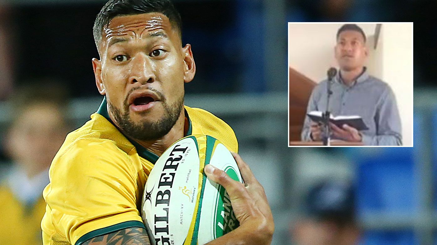 Israel Folau's slim chances of a comeback should be over after bush fire rant