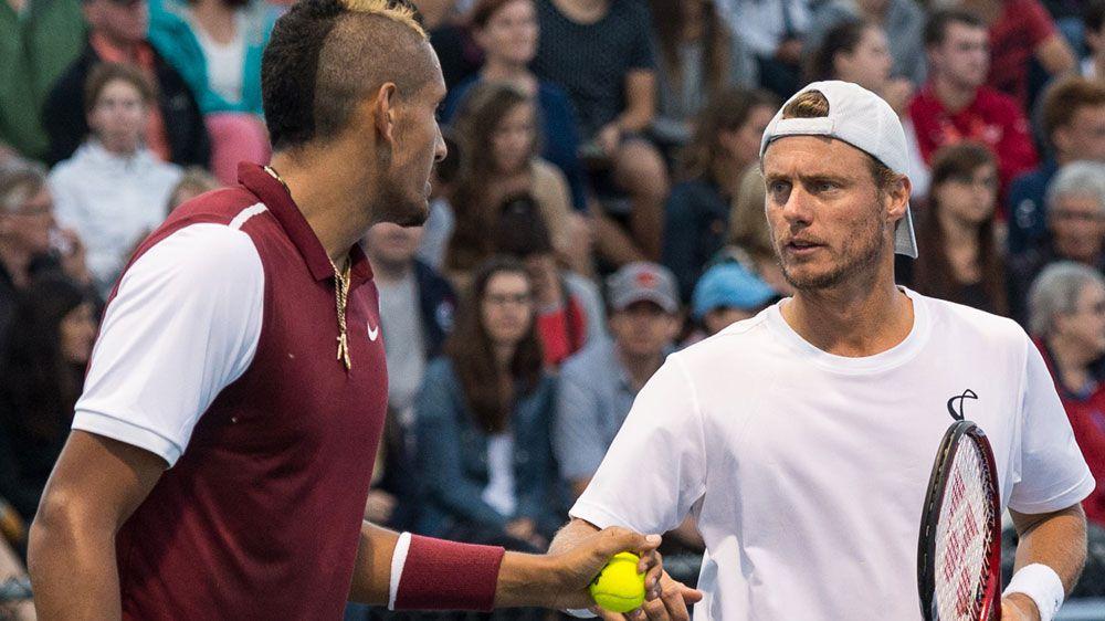 Kyrgios wary of Hewitt Open match-up