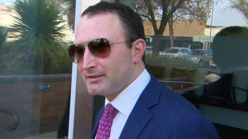 Brett Joseph has pleaded not guilty to a charge of disposing of stolen property.