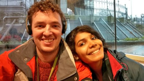 Andrew Lowe and his fiancée Richa have been waiting almost two years for their prospective marriage visa to be approved.