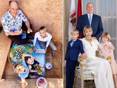 Princess Charlene's sweet Easter photo