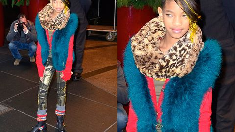 Willow Smith wore everything in her closet at once