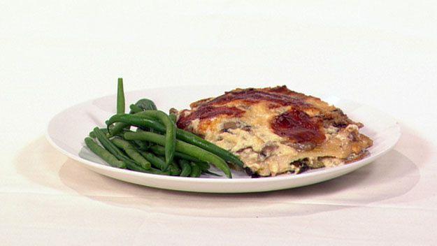 Gourmet vegetarian lasagne