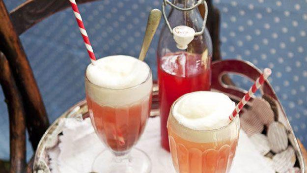 Raspberry lemonade spiders