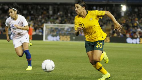 Kerr is currently the reigning golden boot winner in the US national league, the reigning ESPON women's soccer player of the year and also the Young Australia of the Year.