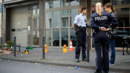 Two suspects on the run after knife and shooting attack in Cologne