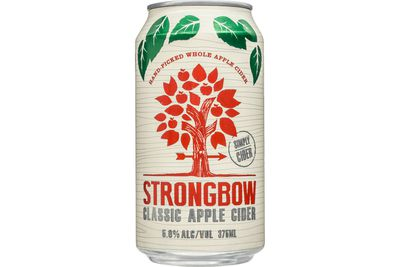 Strongbow Classic Apple Cider (355ml): 767kj