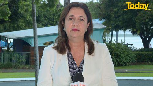 Queensland to reopen borders to NSW - Annastasia Palaszczuk on Today.