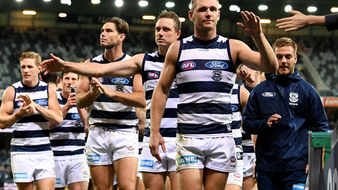 Geelong thump injury-hit Saints in AFL
