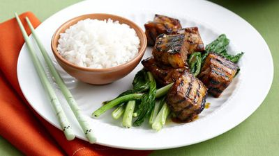 """Recipe:&nbsp;<a href=""""http://kitchen.nine.com.au/2016/05/17/11/10/pork-spare-ribs-with-sticky-mustard-marinade-for-990"""" target=""""_top"""">Pork spare ribs with sticky mustard marinade</a>"""