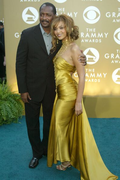 Mathew Knowles and daughter Beyoncé