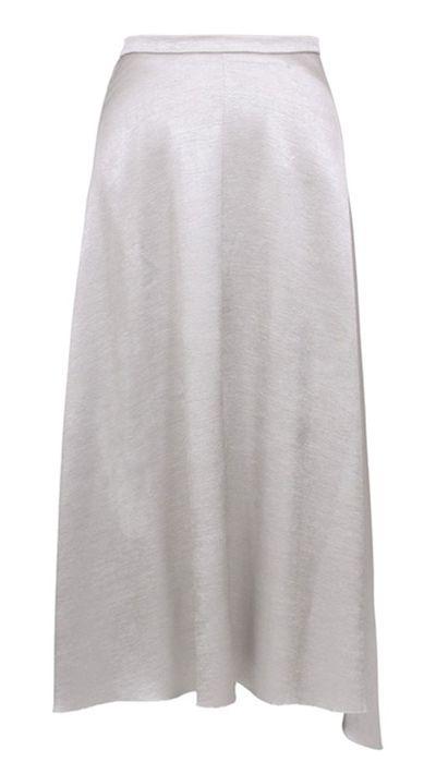 "<a href=""http://shop.gingerandsmart.com/Products/READY%20TO%20WEAR/SKIRT/Slipper_Skirt__W15406.aspx"">Slipper Skirt, $379, Ginger &amp; Smart</a>"
