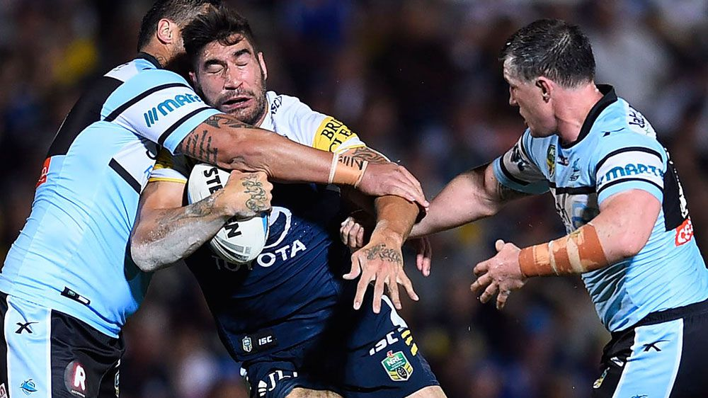 James Tamou. (AAP)