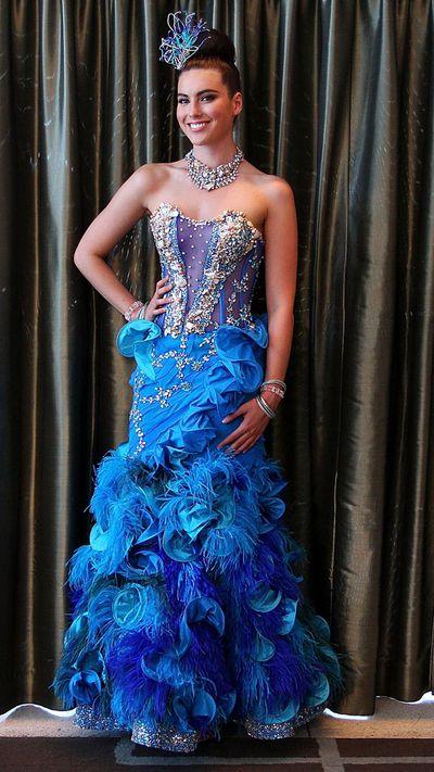 Miss Universe Australia costume: 2013
