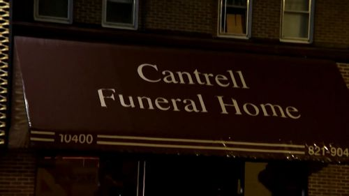The babies were found hidden in a false ceiling in cardboard boxes and coffins at the Cantrell Funeral Home.